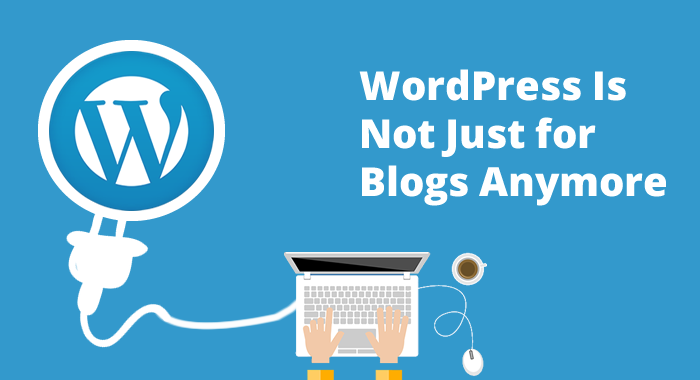 Wordpress Is Not Just For Blogs